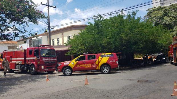 Incêndio em restaurante no Setor Marista é controlado