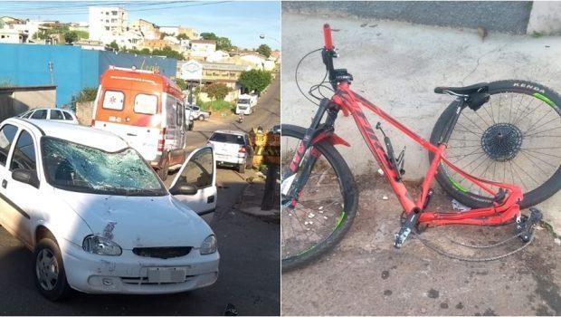 Ciclista tem traumatismo craniano e morre após acidente em Anápolis