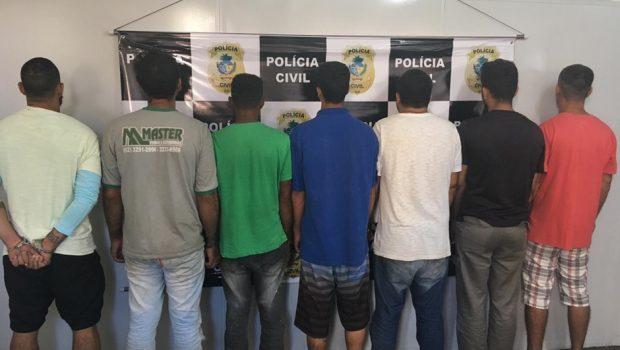 Sete suspeitos de agredir mulheres são presos, em menos de 24 horas, em Goiânia