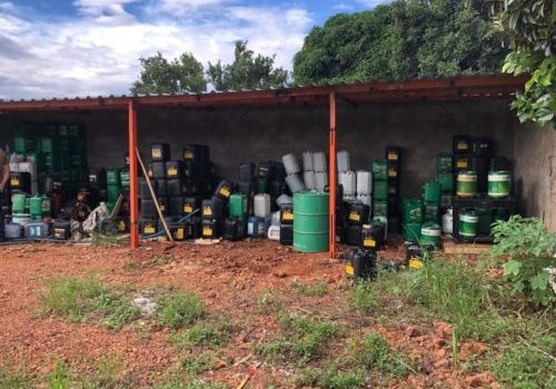 Polícia Civil apreende óleo lubrificante adulterado em Anápolis