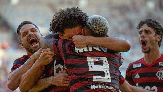Flamengo volta a bater Vasco por 2 a 0 e conquista o seu 35º título do Carioca