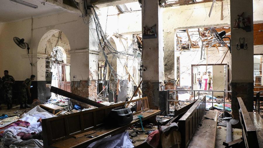 Ataques foram represália de radicais islâmicos, diz Sri Lanka
