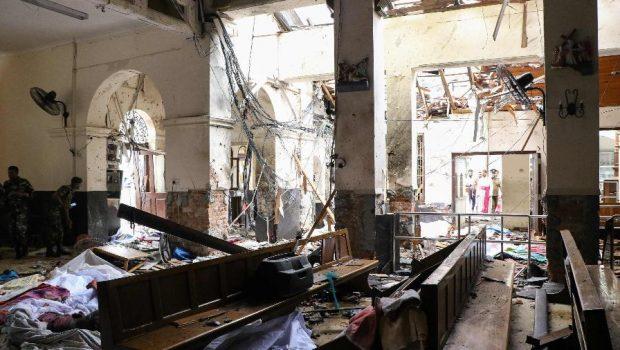 Sri Lanka: explosões deixam pelo menos 138 mortos e centenas de feridos