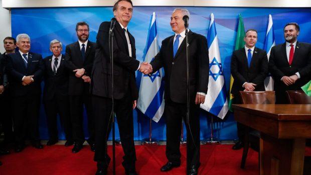 'É direito deles reclamar', diz Bolsonaro sobre reação palestina a escritório em Jerusalém