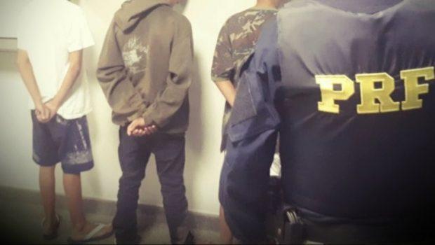 Apreendido trio de adolescentes que assaltava com simulacro em Samambaia (DF)