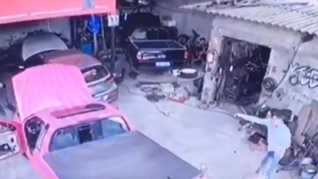 Homem confessa ter matado mecânico no Jardim Vila Boa; crime foi filmado