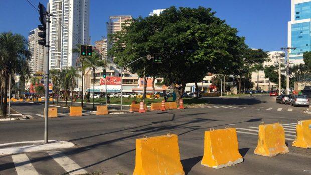 Obras da trincheira na Rua 90 em Goiânia terão três etapas e bloqueios no trânsito da região