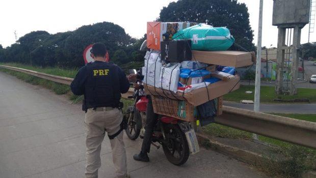 Apreendida moto com registro de roubo enquanto era conduzida pelo comunicante do crime