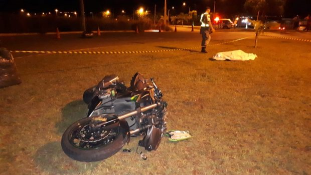 Motociclista morre em acidente de trânsito no Jardim Mariliza, em Goiânia