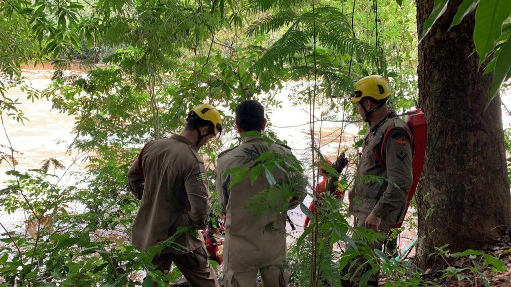 Após dois dias de buscas, bombeiros encontram corpo de funcionário da Saneago