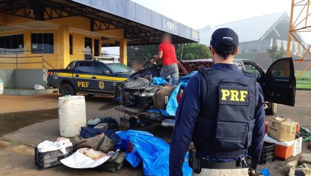 Homens são presos por pesca irregular e porte ilegal de munições, em Rio Verde