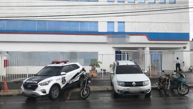 Laboratório de análises clínicas é alvo de operação da PC contra sonegação fiscal, em Goiânia