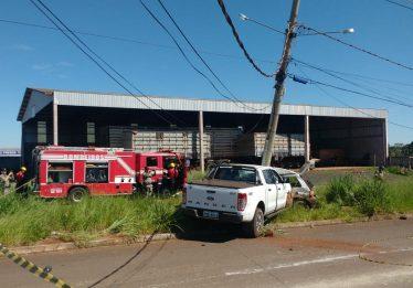 Acidente entre dois veículos deixa um homem ferido em Rio Verde