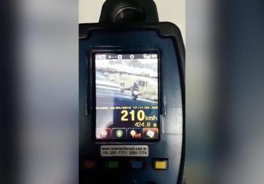 PRF: Excesso de velocidade foi a infração mais cometida durante a Semana Santa
