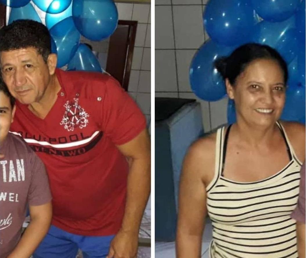 Edval Rodrigues Arantes, 56 anos e Idna Araújo Arantes, 50 (Foto: Reprodução)