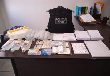 PC prende funcionários públicos suspeitos de vender vagas de cirurgias em hospitais de Goiânia