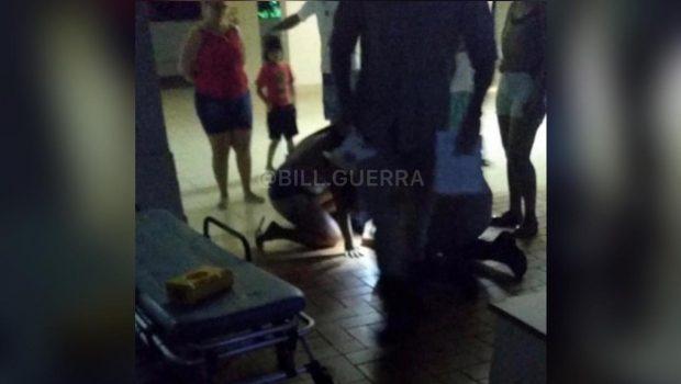 Criança de três anos cai do 2º andar de prédio em Goiânia