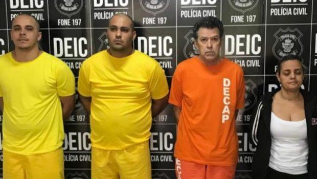 Ex mulher, amante, e motoristas são presos suspeitos de assassinato
