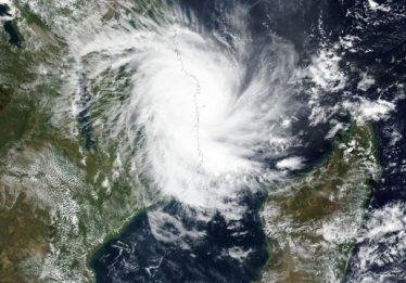 Novo ciclone atinge Moçambique