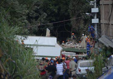 Sobe para 24 total de mortos na tragédia na Muzema, no Rio