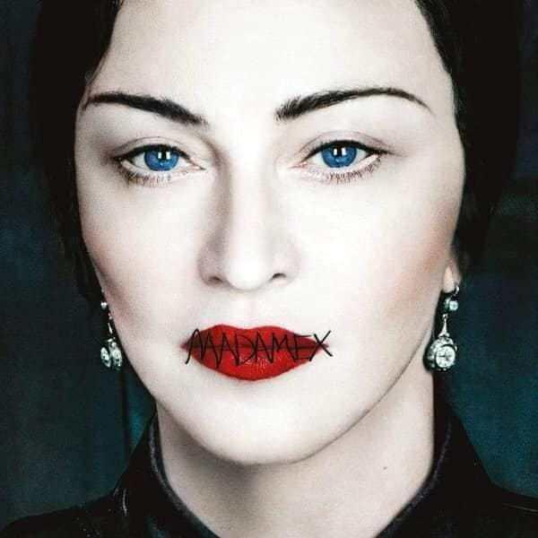Capa do disco 'Madame X' da cantora Madonna