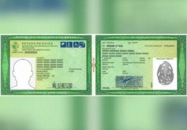 Novo modelo de carteira de identidade já pode ser emitido em Goiás