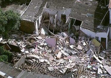 Explosão provocada por vazamento de botijão de gás deixa três mortos em Pernambuco