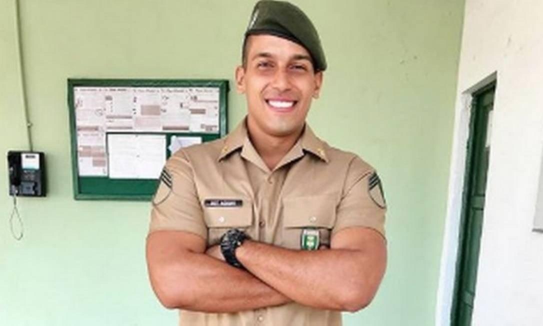 Leandro Aguiar, terceiro sargento (Foto: Reprodução)