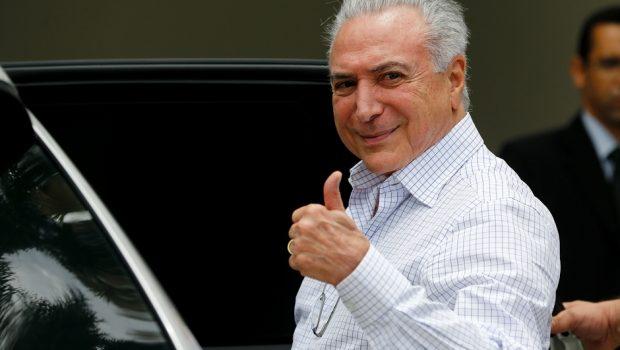 STJ decide por unanimidade soltar Temer, preso em São Paulo