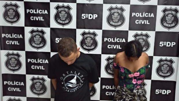 Preso casal suspeito de série de roubos a residência na Grande Goiânia