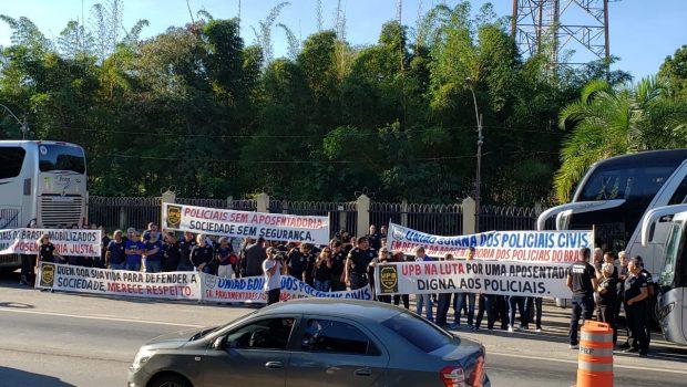 Servidores da Segurança Pública viajam à Brasília para ato contra a Reforma da Previdência