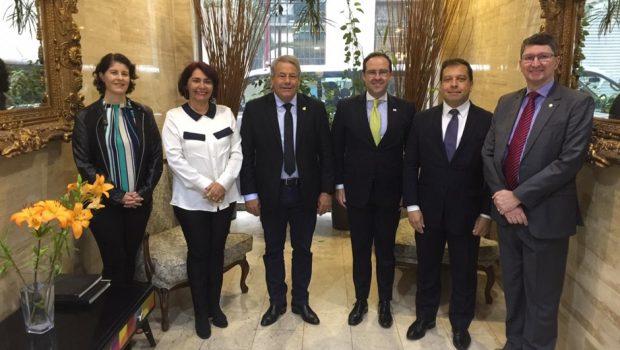 Senador goiano vai ao Chile conhecer políticas públicas bem-sucedidas na América Latina