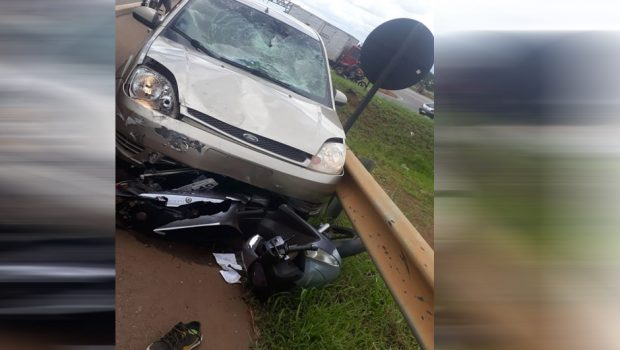 Motociclista morre após ser atingido por veículo na BR-060, em Anápolis