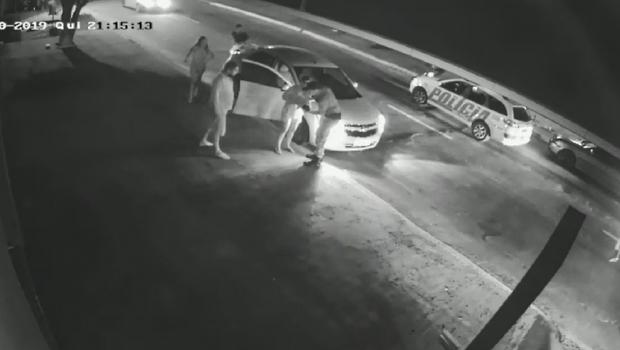 Policial salva bebê de 15 dias de engasgamento, em Trindade