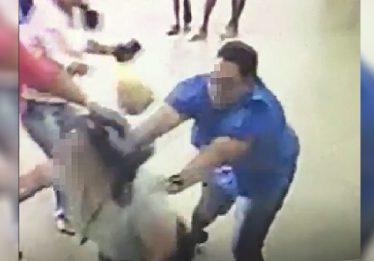 Coordenadora de escola é agredida por tio de aluno em Goiânia; veja vídeo