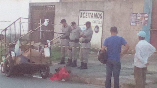 Catador de materiais recicláveis é morto a facadas em Aparecida de Goiânia