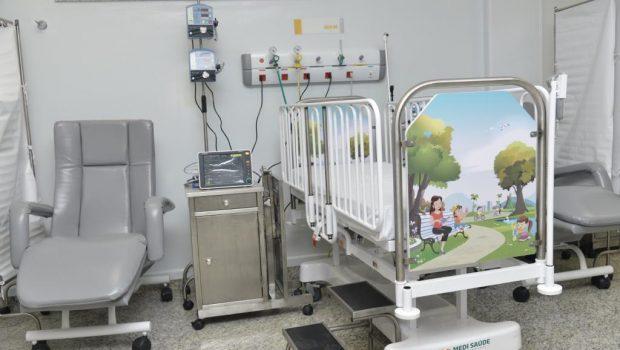 Em meio à crise do Materno Infantil, Aparecida antecipa inauguração de ala infantil do HMAP