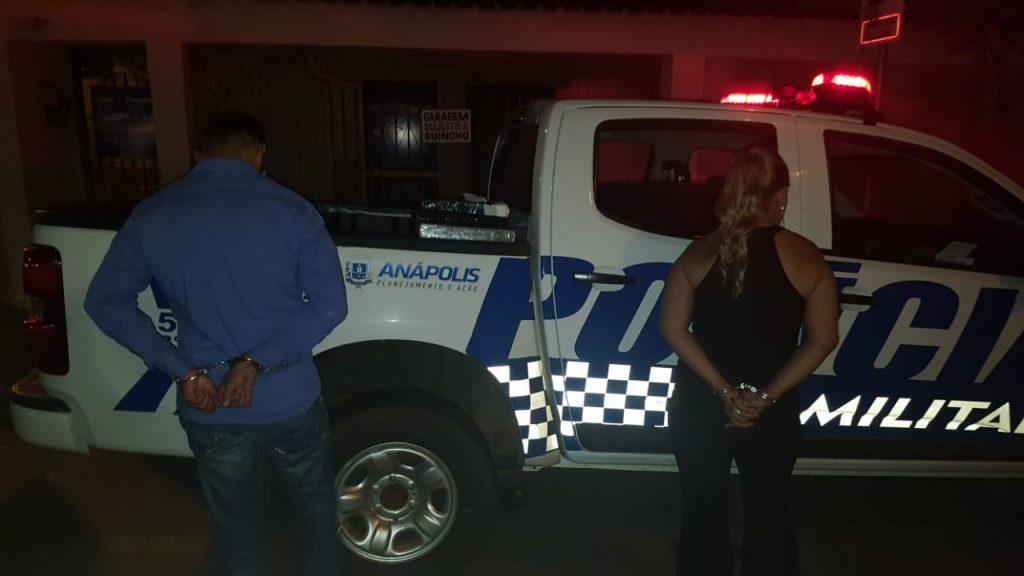 Casal é preso por traficar drogas em cerimônia de casamento em Anápolis