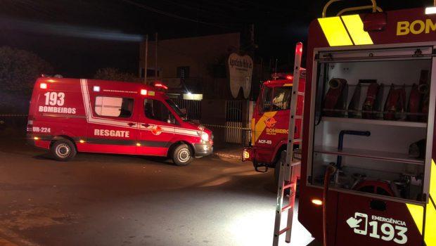 Incêndio destrói loja de móveis em Rio Verde; prejuízo é de R$ 32 mil