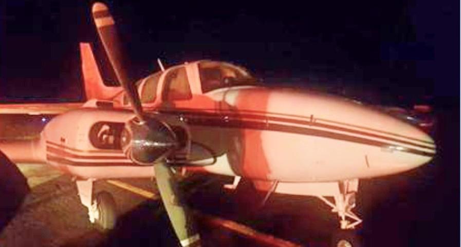 Avião com 500 kg de cocaína é interceptado e apreendido em Quirinópolis