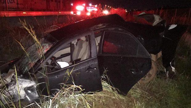 Jovem de 29 anos morre após capotar veículo na BR-060 em Goiânia