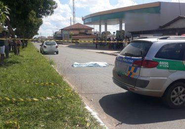 Idoso morre após ser atropelado por veículo no Jardim Tropical, em Aparecida de Goiânia