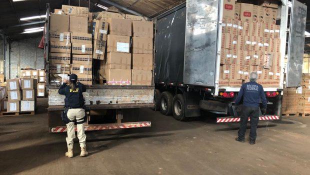 Goiás ocupa 3ª posição na apreensão de cigarros contrabandeados