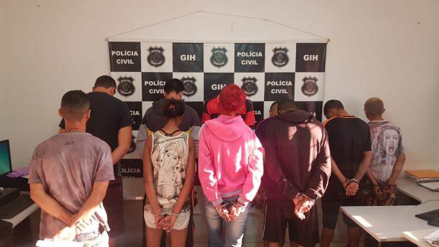 Presos 9 suspeitos de tráfico em portas e imediações de escolas de Valparaíso
