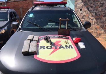 Integrante de facção criminosa morre em confronto com Rotam, em Goiânia