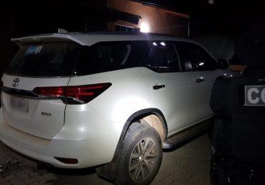 Advogado é preso com veículo roubado em Aparecida de Goiânia