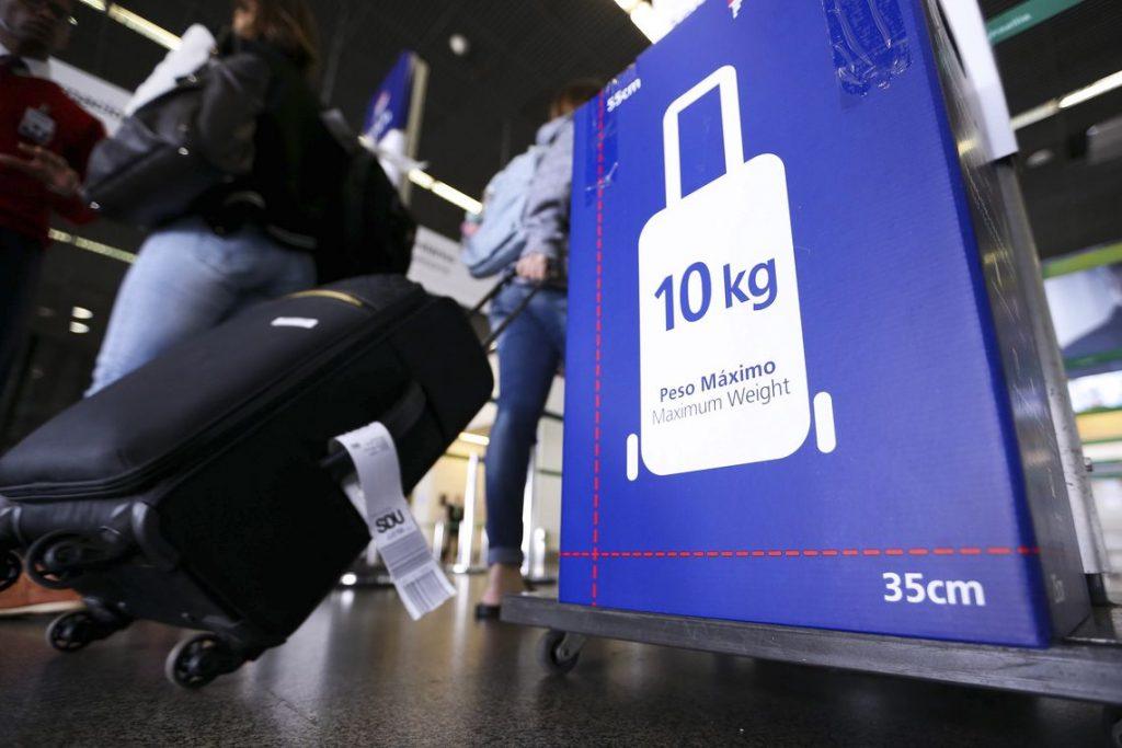 Triagem de bagagem de mão no aeroporto de Goiânia começa nesta segunda-feira (13)