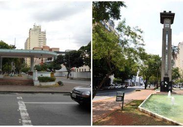 Coreto e relógio da Avenida Goiás serão restaurados pela prefeitura