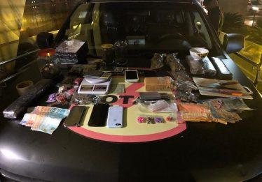 Rotam prende seis pessoas e apreende maconha e ecstasy dentro da Casa do Estudante Universitário, em Goiânia