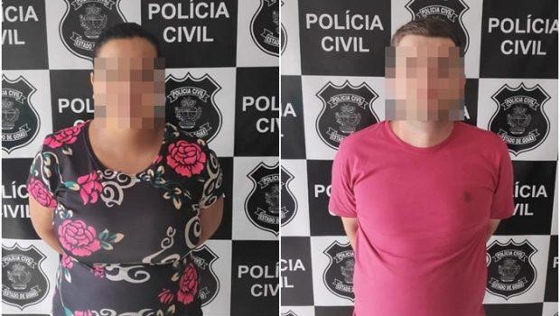 Dupla é presa após repassar cheques fraudados para comerciantes de Jaraguá